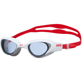 arena The One Goggles light smoke/white/red